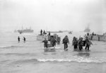 American troops landing from LCA 26 at the beaches of Azreu, Algeria, 8 Nov 1942