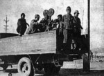 Japanese Army film crew in Nanjing, China, 17 Dec 1937