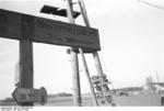 Road sign near Nemmersdorf, East Prussia, Germany, late Oct 1944, photo 1 of 2