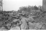 Destroyed buildings at Nemmersdorf, East Prussia, Germany, late Oct 1944, photo 5 of 6