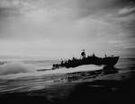 A PT boat patrolled off New Guinea, 1943