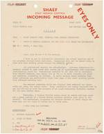 Memorandum from Eisenhower to Marshall, 6 Jun 1944