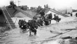 Royal Marine Commandos of Headquarters, 4th Special Service Brigade, British 2nd Army landing at Juno