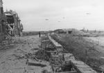 View of the beach area at Courseulles-sur-Mer, France, Jun 1944