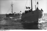 German Navy boats in Danish waters, circa 1940, photo 2 of 2