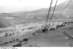 Cable car at Gran Sasso, Italy, 12 Sep 1943, photo 3 of 4
