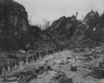 US Marines on Peleliu, Palau Islands, Sep 1944