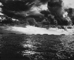 American ships off the coast of Leyte, Philippine Islands, Oct 1944