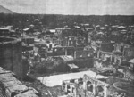 Destroyed buildings of Lipa City, Luzon, Philippine Islands, after 29 Mar 1945
