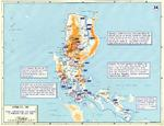 Map of final American operations on Luzon, Philippine Islands, 3 Feb-20 Jul 1945