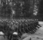 German troops marched through Warsaw, Sep 1939