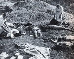 Polish civilian victims as the result of German aerial bombing, Poland, Sep 1939