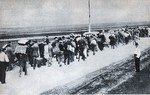 Polish civilians escaping from German troops, Poland, Sep 1939