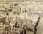 Damaged buildings of Kolberg, Germany (now Kolobrzeg, Poland), mid-1945