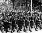 German soldiers marched into Rhineland, 7 Mar 1936