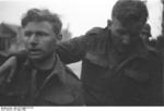 British prisoners of war, Saint-Nazaire, France, 28 Mar 1942