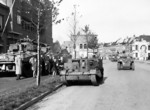 Units of the Canadian 4th Armoured Division into Bergen op Zoom, the Netherlands, 29 Oct 1944
