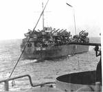 LST-286 en route for Operation Dragoon, Aug 1944