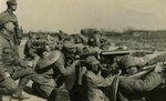 Chinese Army machine gun crew, Shanghai, China, 1932, photo 2 of 2
