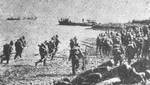 Japanese landing near Shanghai, Aug 1937