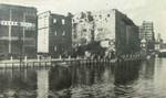 West wall of Sihang Warehouse, Shanghai, China, late Oct or early Nov 1937
