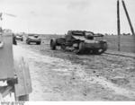 Spanish Nationalist vehicles, Battle of Guadalajara, Spain, Mar 1937