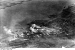 Smoke rising from various districts of Stalingrad, Russia, Oct 1942, photo 4 of 5