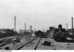 Battered rail station, Stalingrad, Russia, Oct 1942