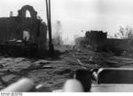 German troops on a street in Stalingrad, Russia that had recently saw heavy fighting, Sep 1942