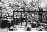 German soldier in a destroyed factory, Stalingrad, Russia, Nov 1942