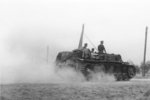 German StuG III assault gun in Stalingrad, Russia, Sep 1942, photo 2 of 3
