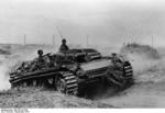 German StuG III assault gun in Stalingrad, Russia, Sep 1942, photo 2 of 2