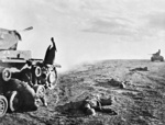 Killed German tankers near Stalingrad, Russia, 17 Jun 1942