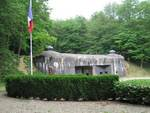 The entrance to Ouvrage Schoenenbourg along the Maginot Line in Alsace