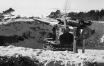 Finnish Canet 152mm/45 naval gun in coastal defense role, Hästö-Busö, Finland, 18 Mar 1940