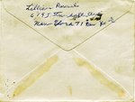 Letter from Lillian Russel to Harry Truman, envelope side 2 of 2, 12 Apr 1951