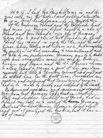 Harry Truman diary entry, 25 Jul 1945, page 2 of 2