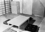Interior of a model Japanese building, Dugway proving Ground, Utah, United States, 27 May 1943, photo 2 of 2
