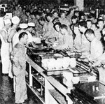Mess hall at Hickam Field, US Territory of Hawaii, date unknown