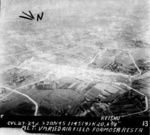 Hokuto Airfield under USS Langley carrier aircraft attack, Taiwan, 3 Jan 1945, photo 4 of 6