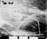 Hokuto Airfield under USS Langley carrier aircraft attack, Taiwan, 3 Jan 1945, photo 5 of 6