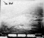 Hokuto Airfield under USS Langley carrier aircraft attack, Taiwan, 3 Jan 1945, photo 6 of 6