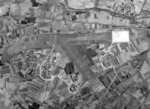 Aerial view of Hozan Airfield in Takao (now Fengshan District, Kaohsiung), Taiwan, Jan 1945