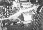 Kagi Airfield under carrier aircraft attack, Taiwan, 12 Oct 1944, photo 4 of 5