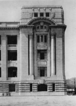 View of the southeastern corner of General Government Building, Keijo (now Seoul), Korea, 1926