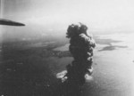 Mako Guard District, Pescadores Islands under US Navy carrier aircraft attack, 12 Oct 1944, photo 2 of 2