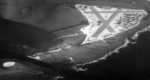 Aerial view of Eastern Island, Midway Atoll, 1 Apr 1945