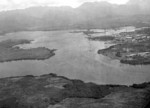 Pearl Harbor Naval Station, looking northeast by east, US Territory of Hawaii, circa 1918