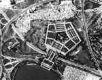 Corona satellite image of the Pentagon building, Arlington, Virginia, United States, 25 Sep 1967