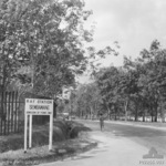 Entrance to RAF Station Sembawang, Singapore, circa 1941